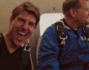 Tom Cruise Makes James Corden Go Sky Diving
